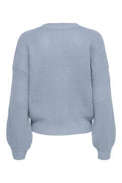 Springfield Puffed sleeves jumper bluish