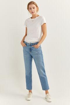 Springfield Vintage straight jeans steel blue
