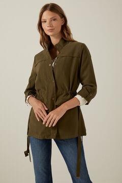 Springfield Fluid safari jacket dark green