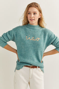 "Springfield ""Ciao"" Jumper violet"