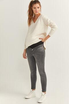 Springfield Jeans Premamá gris
