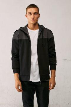 Springfield Urban block sweatshirt black