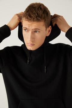 Springfield Sweat-shirt capuche noir