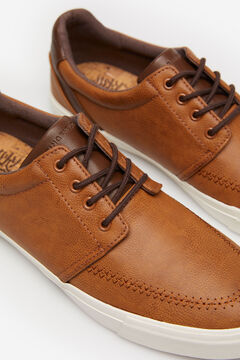 Springfield FAUX LEATHER CASUAL SHOE brown