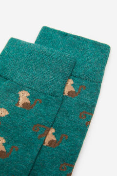 Springfield Monkey socks green