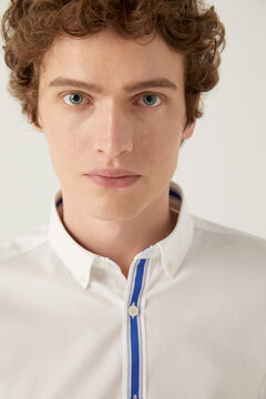 Springfield Placket shirt white