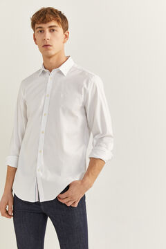 Springfield STRETCH PINPOINT SHIRT white