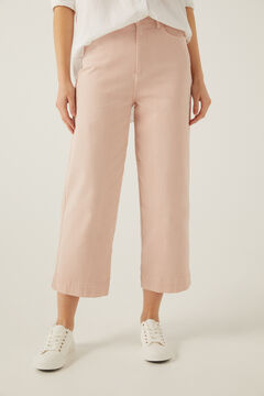 Springfield Coloured culotte jeans strawberry