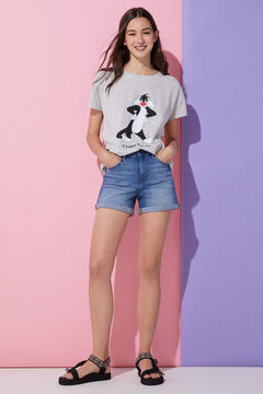 Springfield Camiseta Gato Silvestre blanco