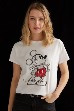 Springfield Mickey T-shirt white