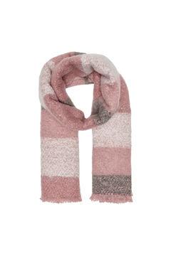 Springfield Stripes scarf pink