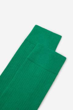 Springfield Meias básicas coloridas verde