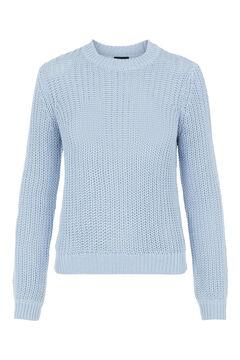 Springfield Knit jumper bleuté
