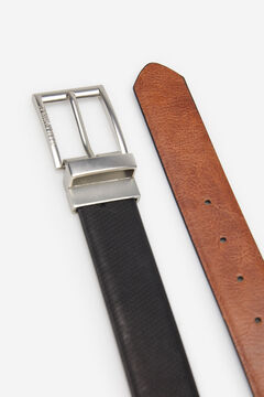 Springfield REVERSIBLE FAUX LEATHER DRESS BELT black
