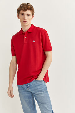 Springfield ESSENTIAL PIQUE POLO SHIRT royal red