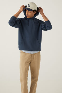 Springfield Sweat-shirt capuche bleuté