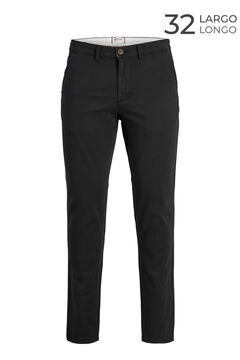 Springfield Marco slim fit chinos  noir