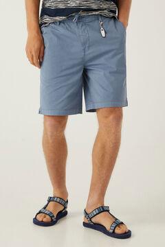 Springfield Beach Bermuda shorts keyring steel blue