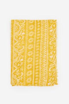 Springfield Boho border print scarf golden