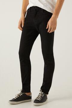 Springfield 510™ Skinny Jeans fekete