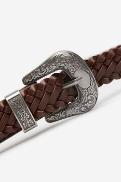 Springfield Braided Belt brown