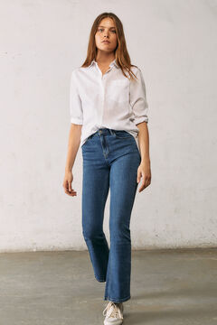 Springfield Boot cut sustainable jeans blue