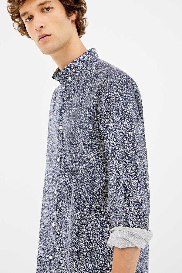 nuevo autentico Reino Unido moda atractiva zara hombre camisa estampada moda camisas estampadas ...