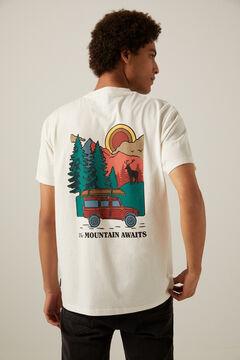 Springfield T-Shirt Sunshine Coast ecru