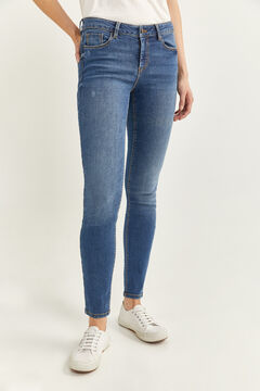Springfield Slim Fit Jeans steel blue