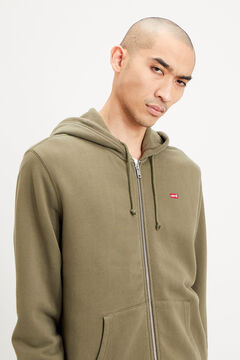 Springfield New Original Zip Up Hoodie zöld
