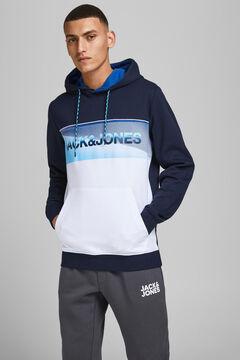 Springfield Colour block sweatshirt kék