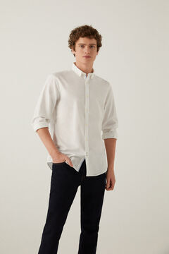 Springfield Pinpoint shirt white