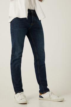 Springfield Medium-dark wash slim fit jeans bluish