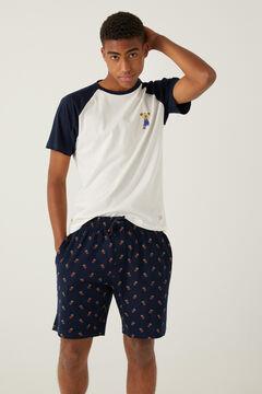 Springfield Short Homer Simpson pyjamas bluish