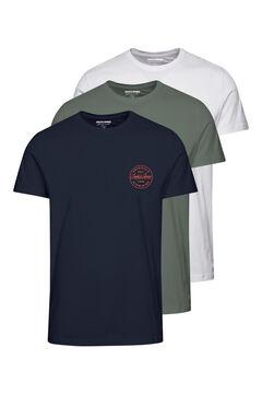 Springfield Logo t-shirt blanc