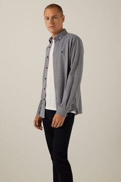 Springfield Jersey-knit shirt navy