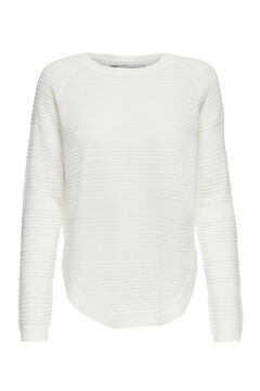 Springfield Knit jumper  white