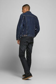 Springfield Sustainable denim jacket bläulich
