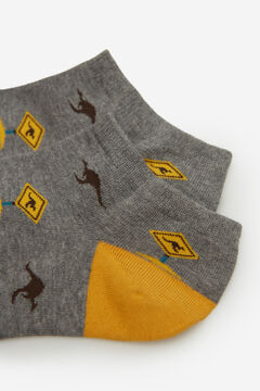 Springfield Jacquard ankle socks color