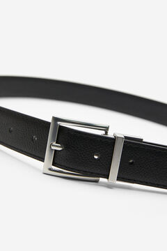 Springfield Reversible faux leather belt black