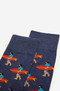 Springfield Calcetín surferos azul