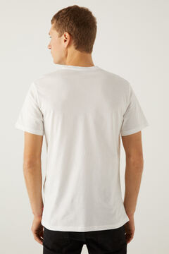 Springfield Housemarked Graphic Tee white