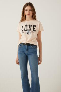 Springfield T-shirt « Love Bugs Bunny » gris