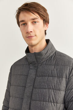 Springfield Quilted jacket with DUPONT™ Sorona® padding. grey