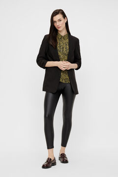 Springfield 3/4-length sleeves blazer black