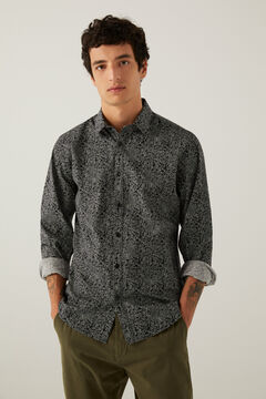 Springfield Printed shirt black