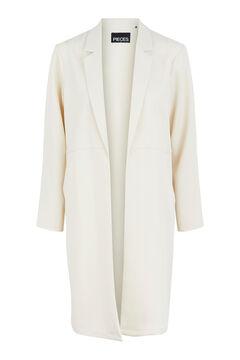 Springfield Extra-long blazer white