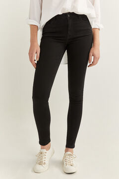 Springfield Body Shape Jeans black