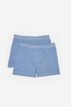 Springfield SEAM-FREE BOXERS steel blue