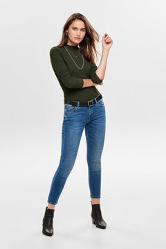Springfield Ribbed frill trim t-shirt green